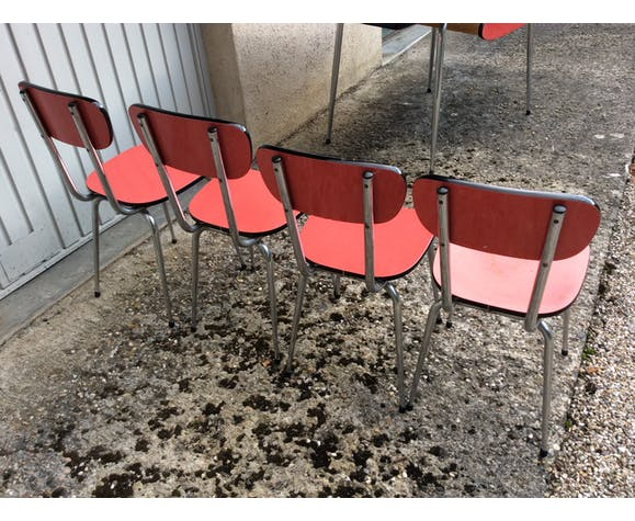 Formica Kitchen Table And Chairs Set Selency
