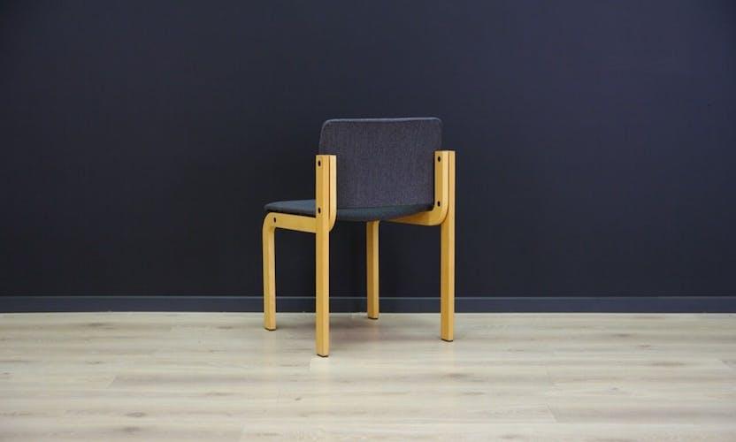 Set of six Fritz Hansen original chairs vintage