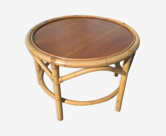 Boiscouleur Rotin Et Osier Basse Table Bambou iPZuXk