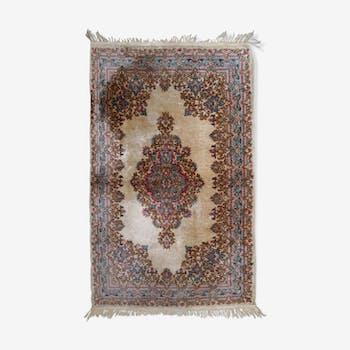 Tapis ancien persan kerman 128cm x 211cm 1930s
