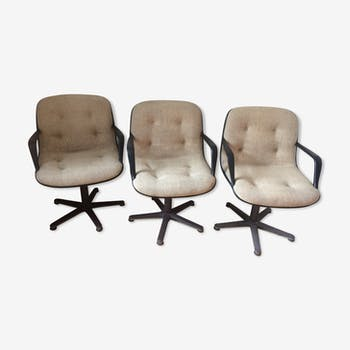 Lot of three armchairs stafor