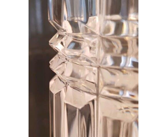 Vase en cristal ciselé