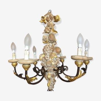 Baroque Italian chandelier