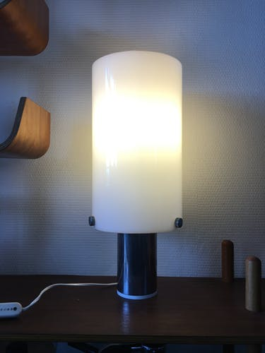 Vintage italian table lamp from Guzzini, 1970