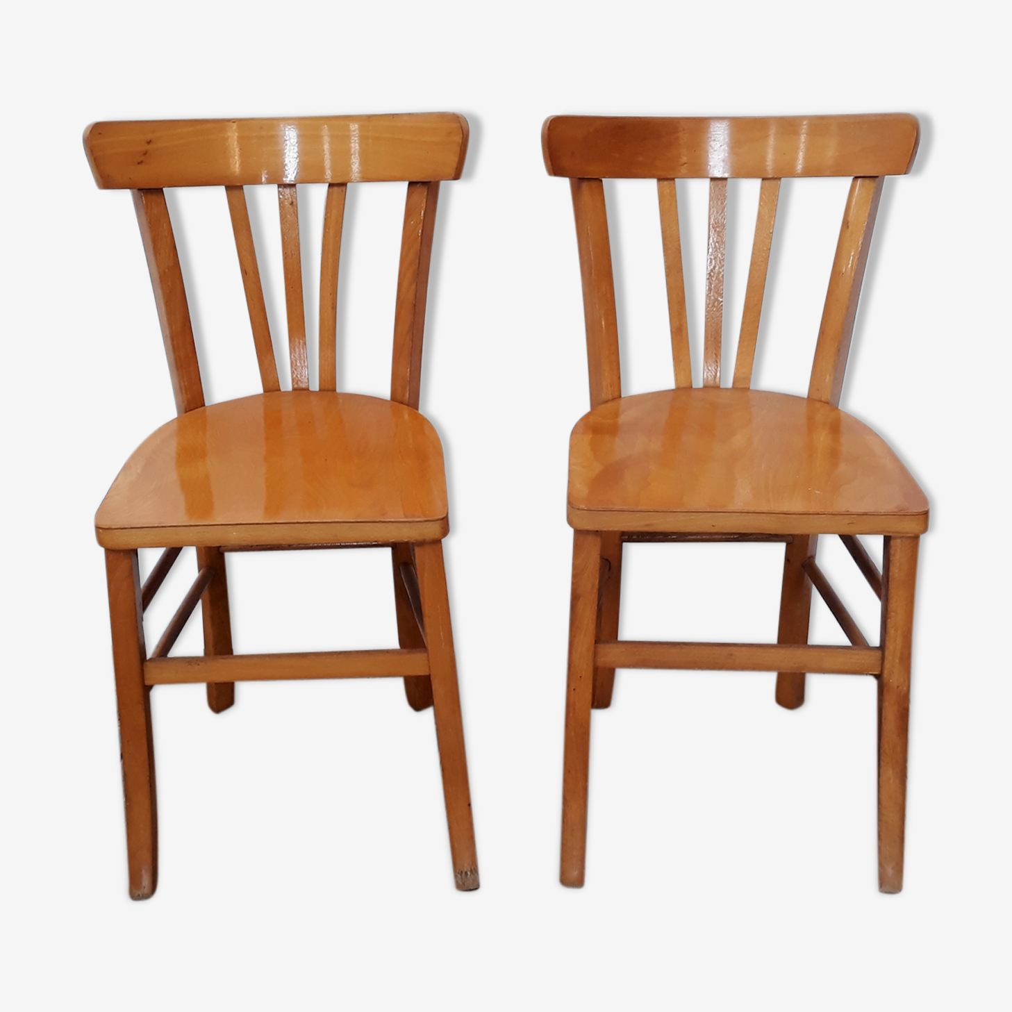 2 bistro chairs