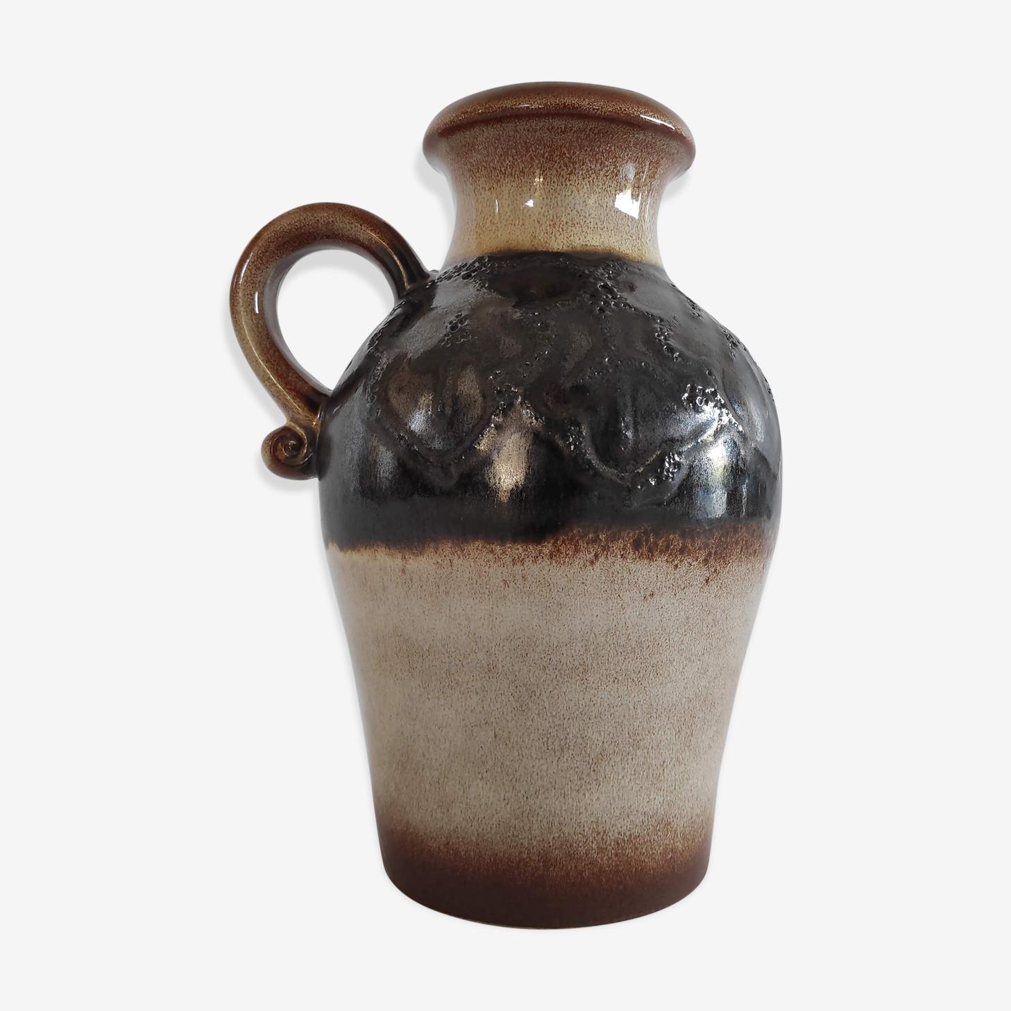 Vase vintage en céramique Scheurich des années 60