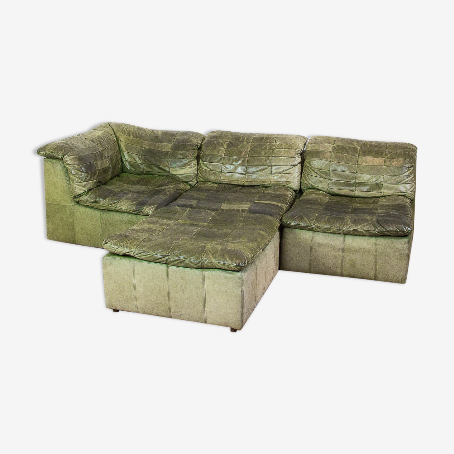 Modular Laauser patchwork sofa