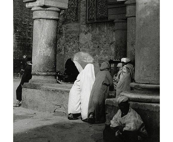 Tirage photographique original Meknes porte Bab el Mansour