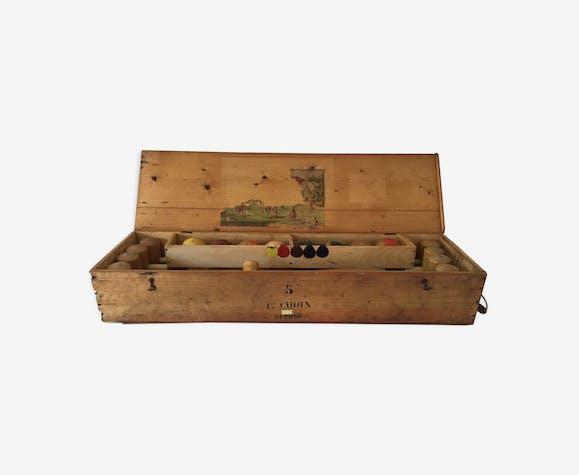 Jeu de croquet début 19ème siècle