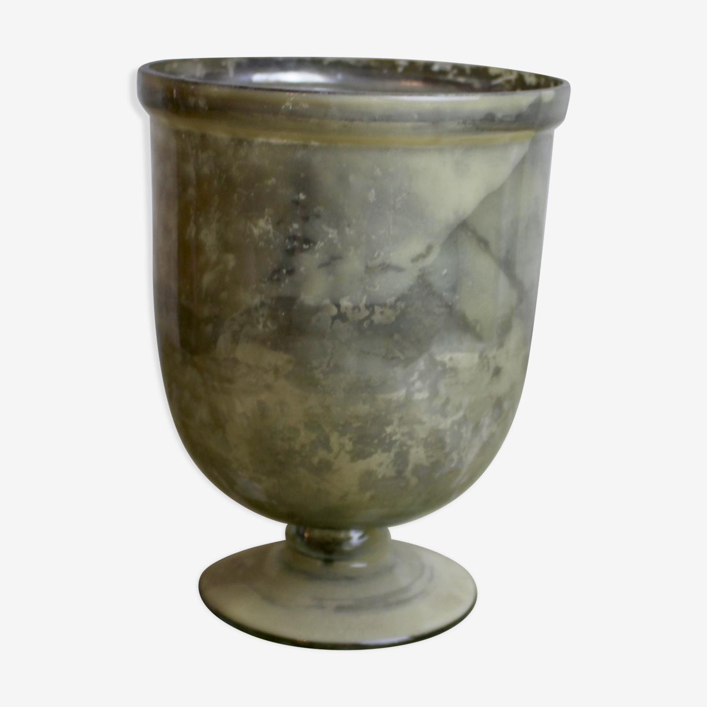 Vase Médicis en mercure de verre