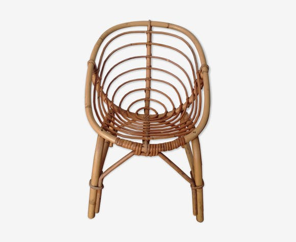 Child rattan armchair
