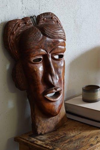 Masque tribal femme