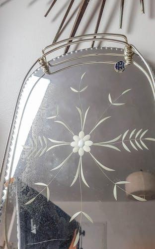 Plateau miroir vintage