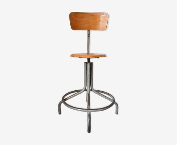 Industrial chair architect designer 1950
