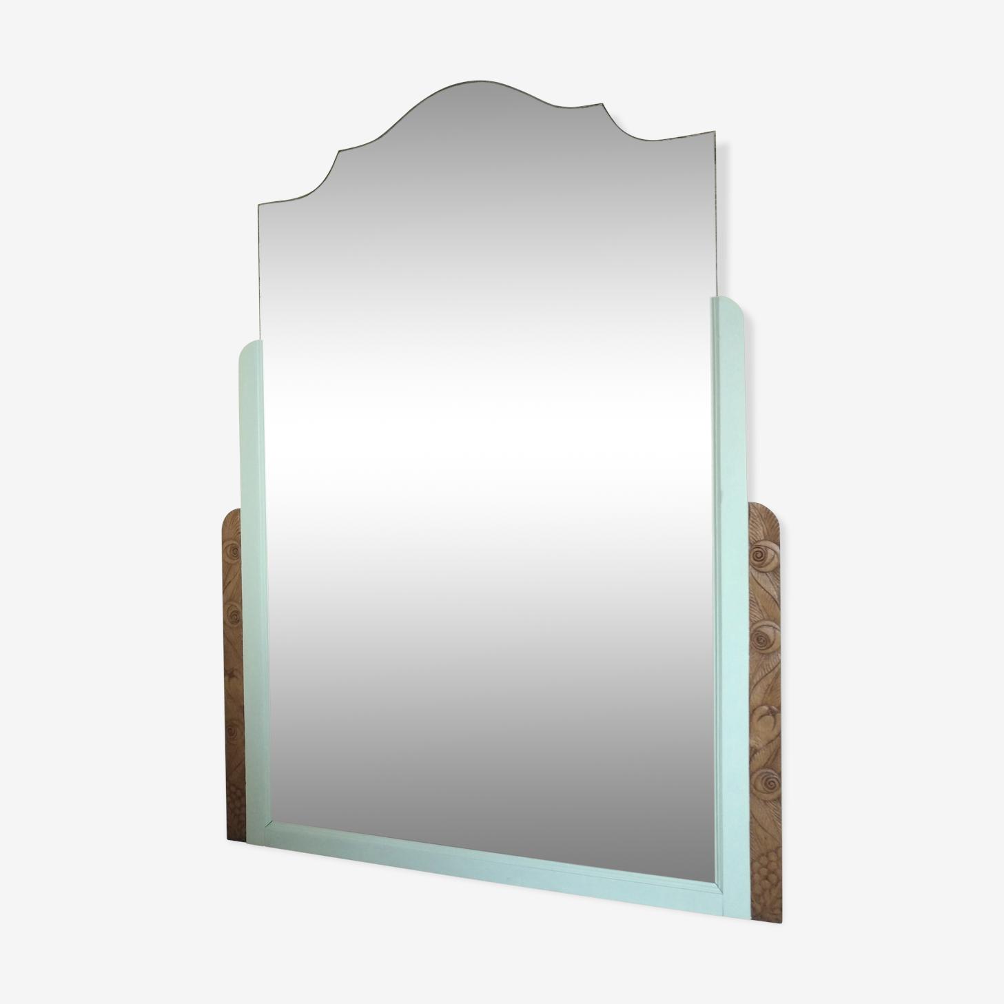 Miroir art déco revisité à poser ou accrocher