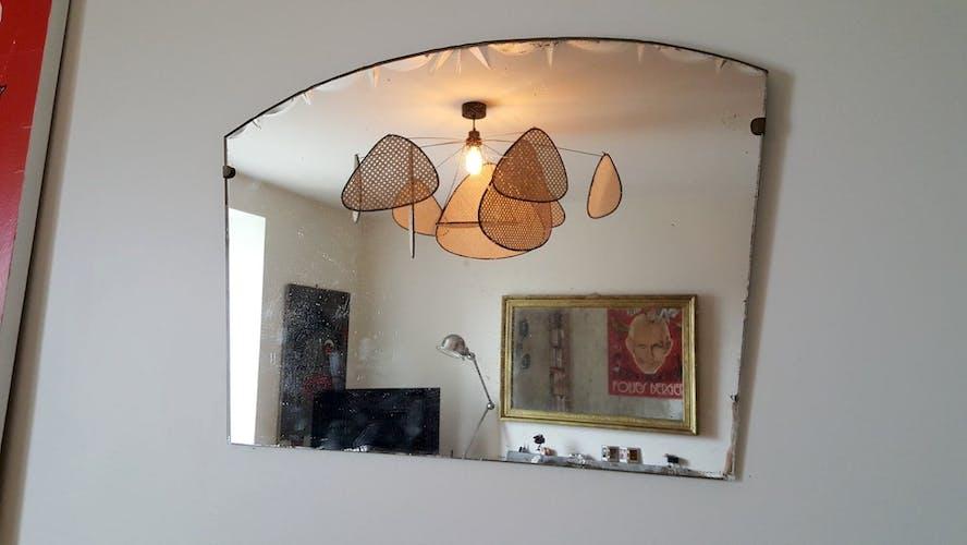Bevelled mirror 30s - 42x59cm