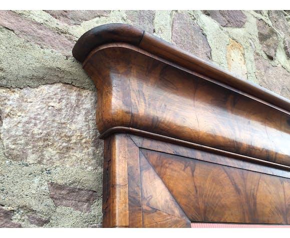 Mirror walnut bramble 1850 94x130cm
