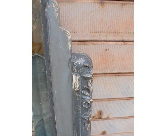 Mirror beveled chimney skated 1925 - 86 x 129 cm