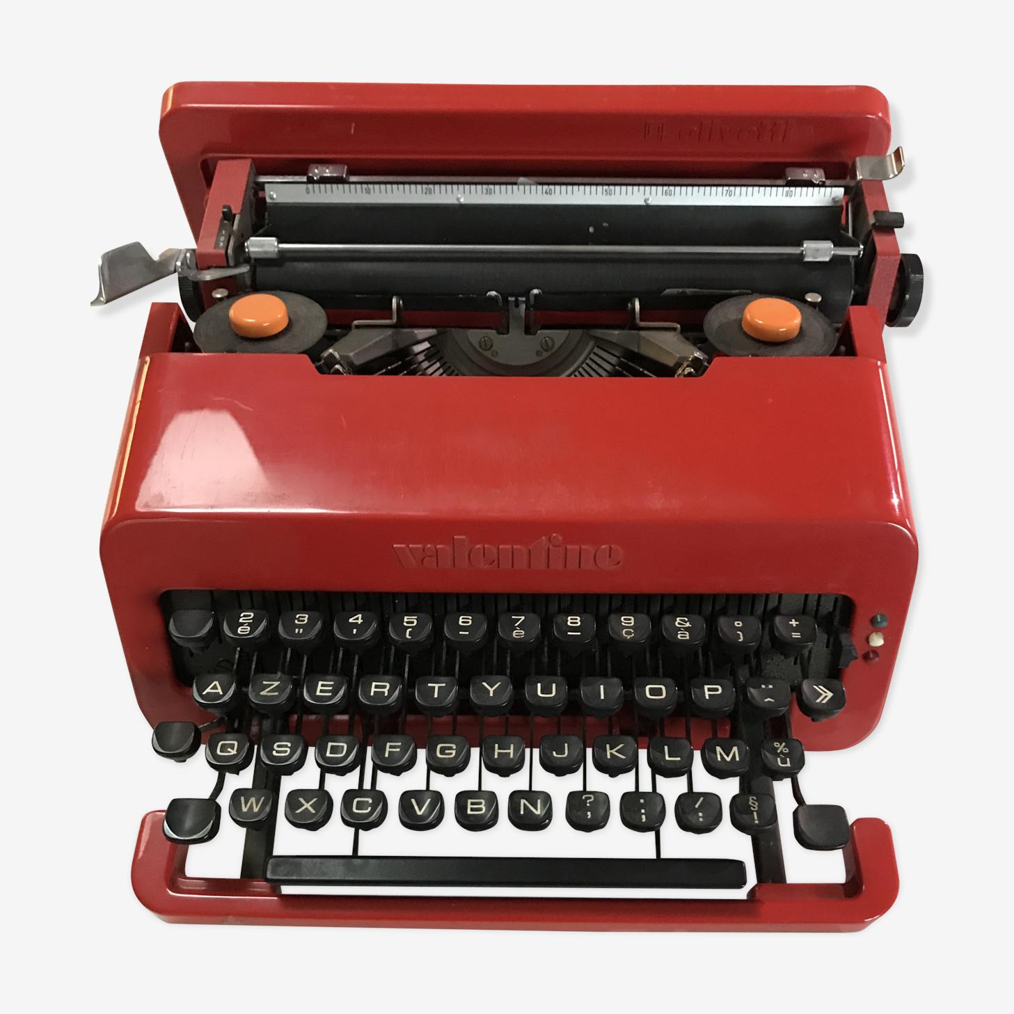 Machine à écrire Valentine