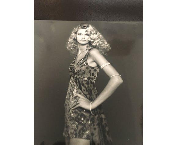 Jean-Louis Scherrer: fashion illustration - vintage press photography. 1991