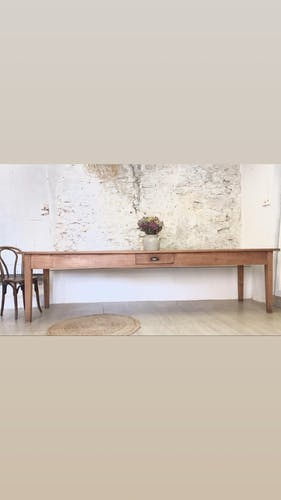 Table de ferme Xl