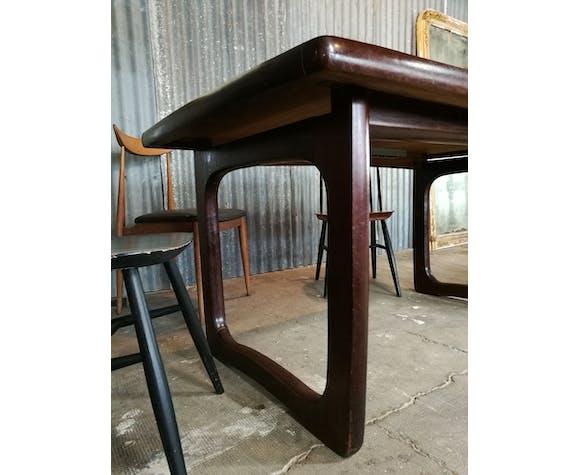 Scandinavian teak dining table