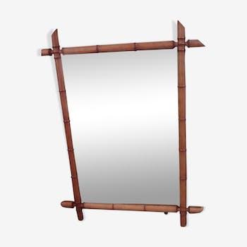 Miroir bambou 60x80cm