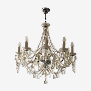 Lustres baroques design Giorgio Cavallo 9 ampoules