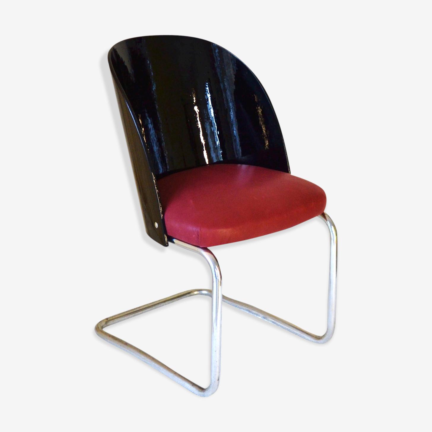Chaise de style Bauhaus Thonet B247 années 1930