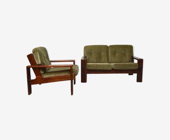 """Canapé 2 places et un fauteuil """" Bonanza"""" par Esko Pajamies pour Asko"""