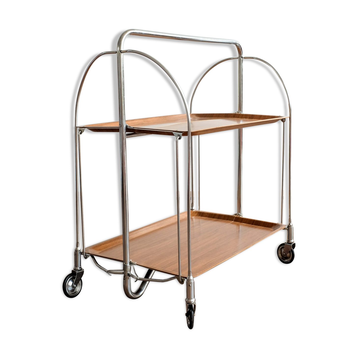 Made In Kenya Country Love Table Hook Folding Bag Desk Hanger Foldable Holder