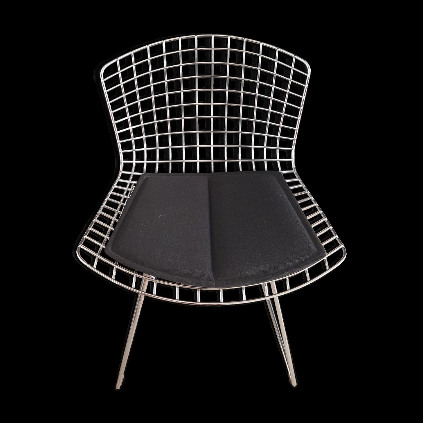 Galette de chaise blanche galette de chaise de jardin pois multicolore pois couleurfond blanc - Galette pour chaise bertoia ...