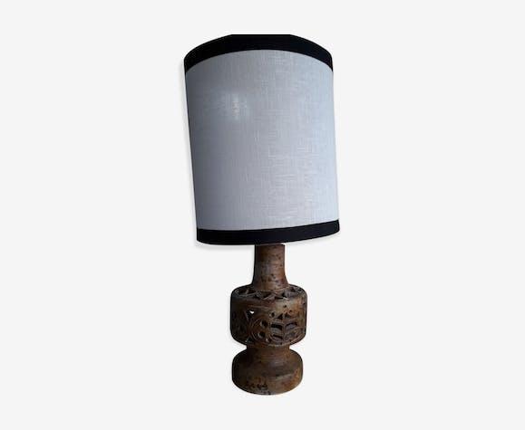 Lampe signée Agnès Escala en céramique
