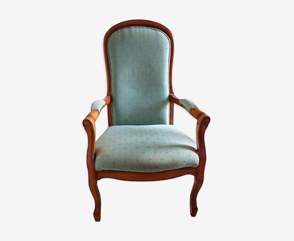 fauteuil de style voltaire bois mat riau vert classique rnxbcyu. Black Bedroom Furniture Sets. Home Design Ideas