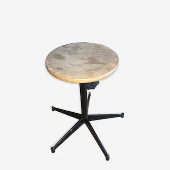 tabouret haut mullca d 39 atelier m tal industriel 144182. Black Bedroom Furniture Sets. Home Design Ideas