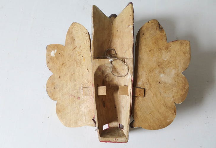 Masque bois traditionnel