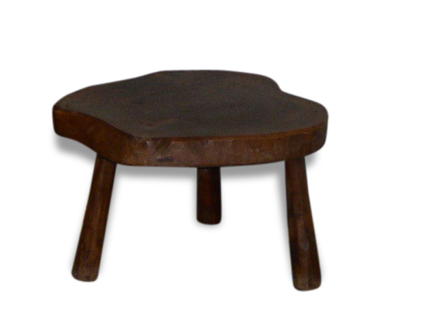 table basse rondin tripode artisanale et vintage with table basse rondin de bois. Black Bedroom Furniture Sets. Home Design Ideas