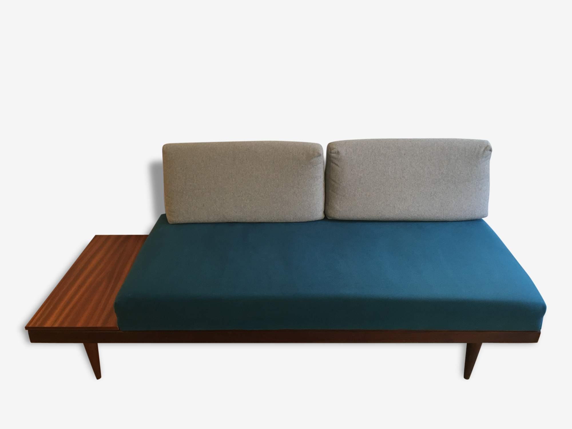 Daybed Scandinave canapé daybed scandinave vintage convertible lit 1 place - bois