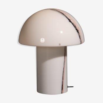 Lampe de champignon de Peill et Demise conçue faite de verre de cirrus