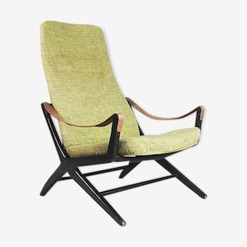 Chaise vintage Joker ajustable par Bengt Ruda pour IKEA, Suède, 1950s