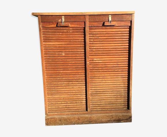 Armoire à rideaux double