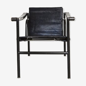 LC1 armchair by Le Corbusier, Perriand, & Jeanneret for Cassina