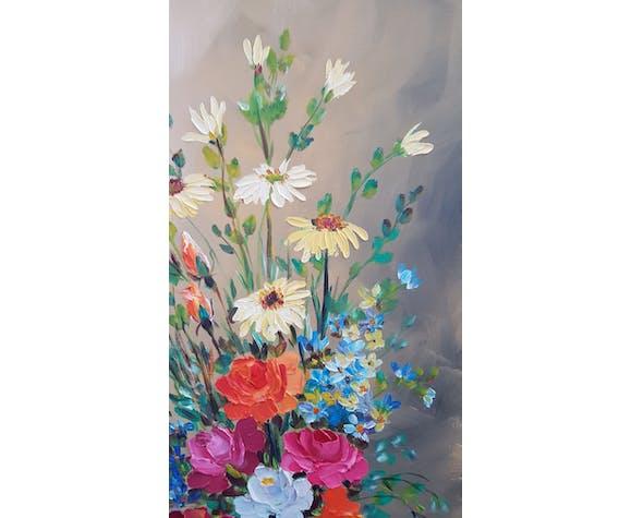 "Painting ""bouquet flowers"""