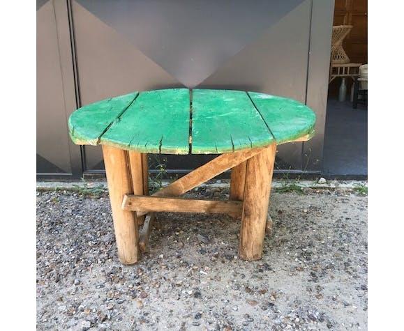 Table ronde verte