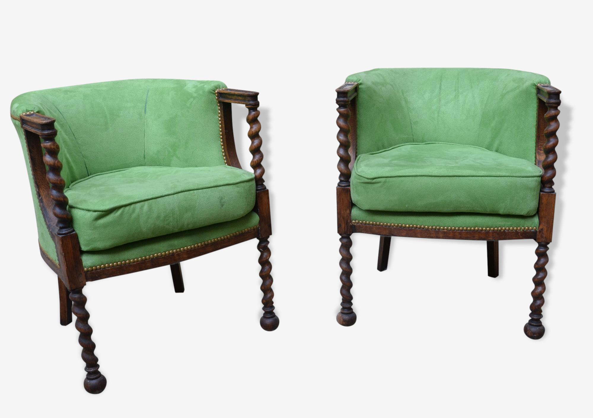 Paire de fauteuils rococo