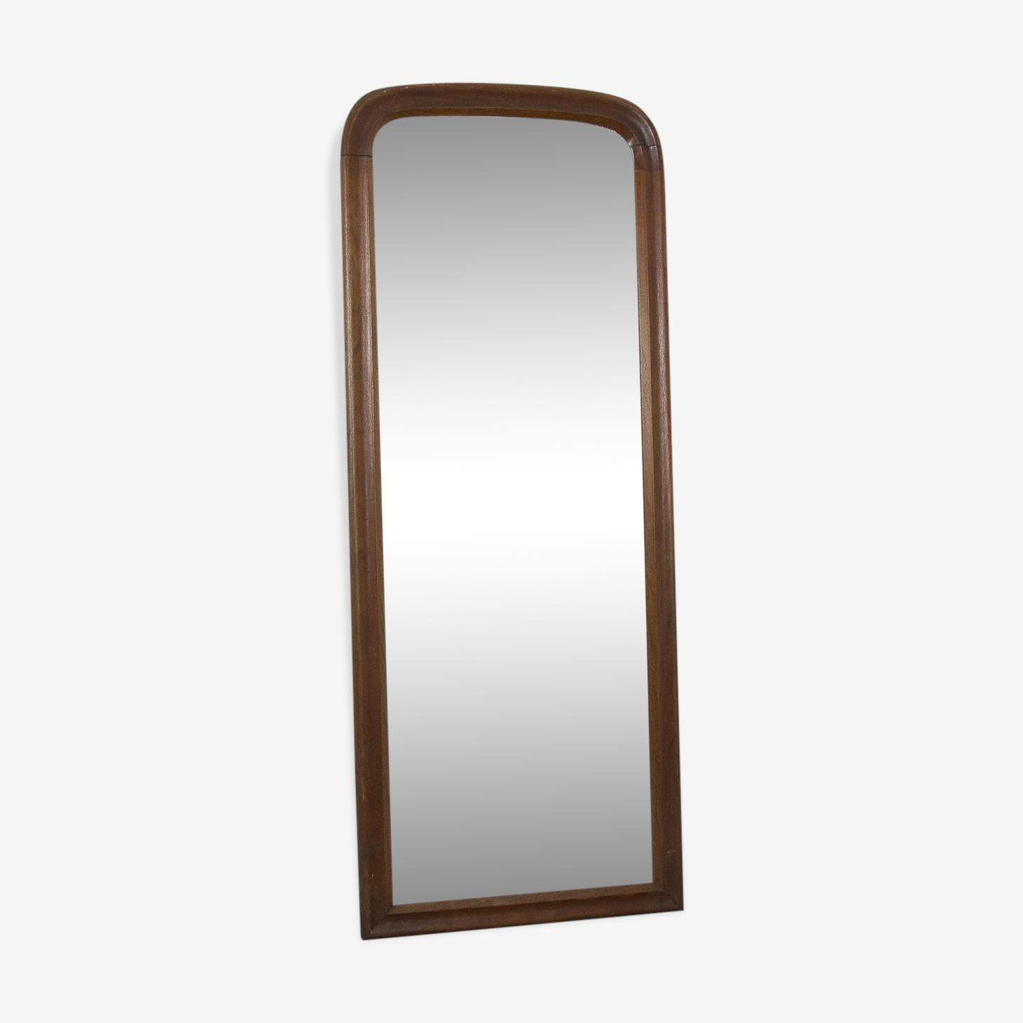 Miroir ovale Louis Philippe, 48x121cm