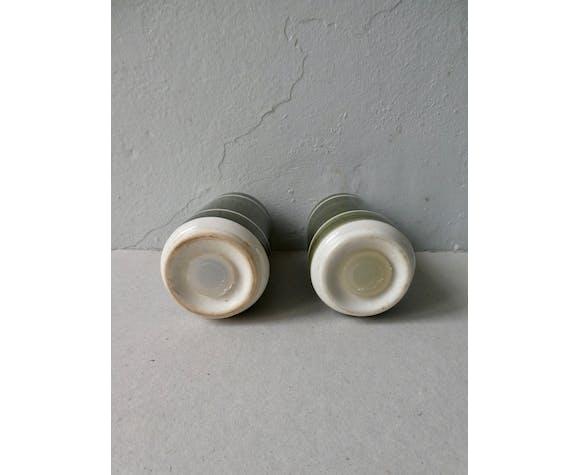 Scandinavian-style ceramic salt and pepper shaker
