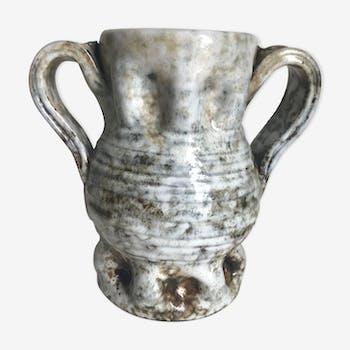 Alexandre Kostanda vase - Giraud Vallauris vintage year 50