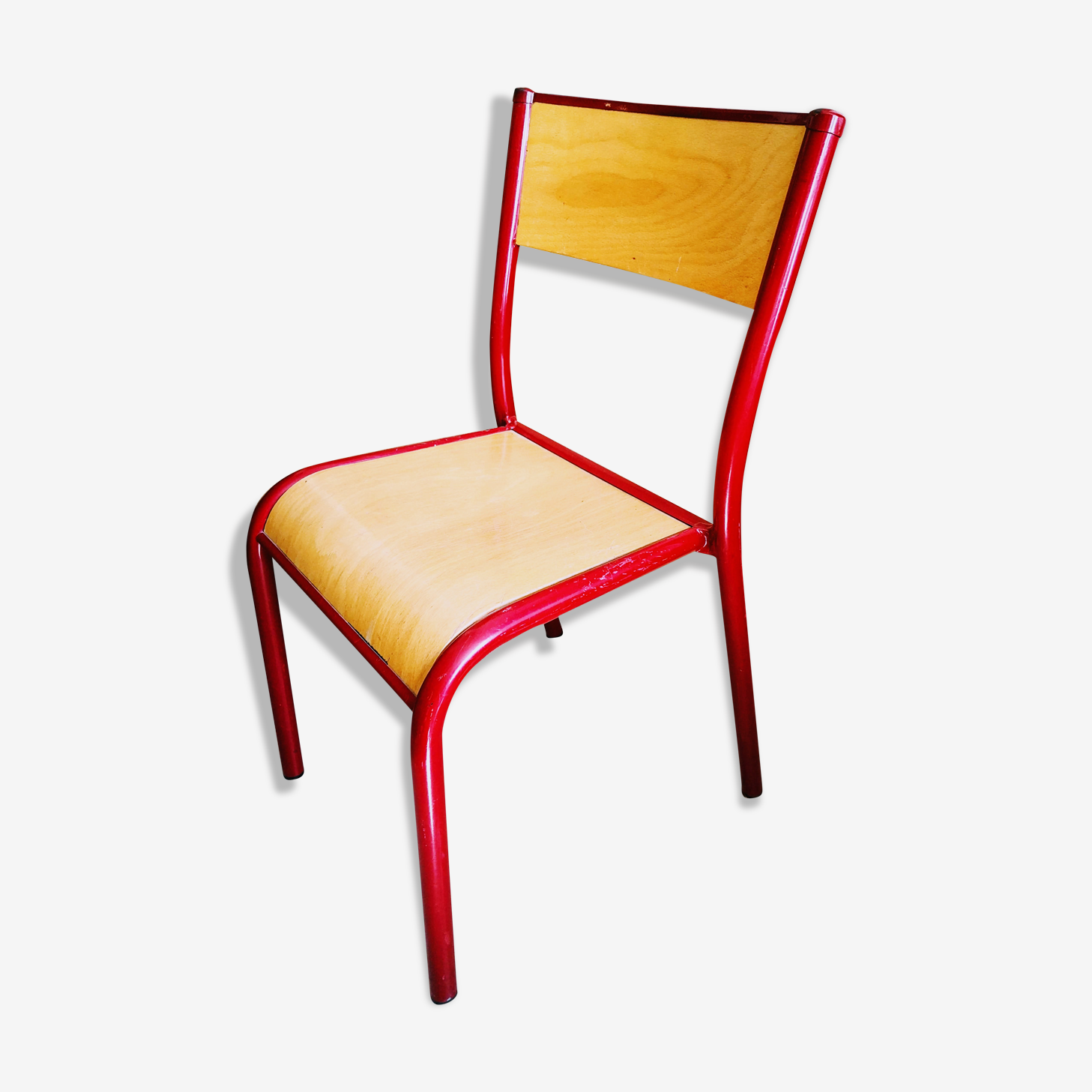 Chaise Mullca 510 rouge