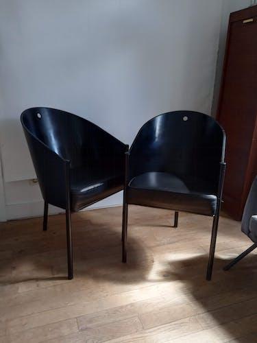 Paire de fauteuils Costes par Philippe Starck